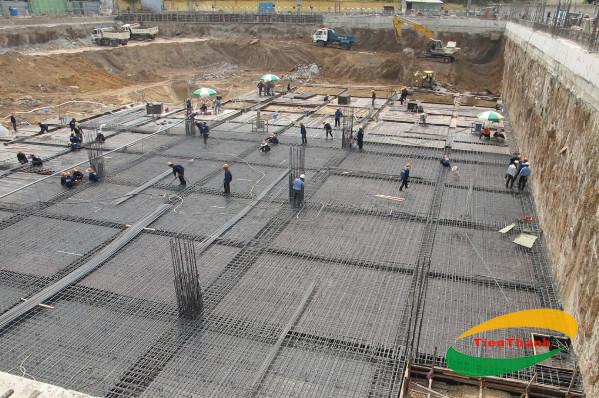 Móng băng và móng bè là hai loại móng thường được áp dụng trong xây dựng